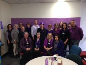 City of Knox purple staff!